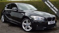 USED 2013 13 BMW 1 SERIES 2.0 118D M SPORT 3d 141 BHP XENON LIGHT PACKAGE  DIESEL MANUAL 6 Month PREMIUM Cover Warrantry - 12 Month MOT (With No Advisories) - MASSIVE SPEC!!
