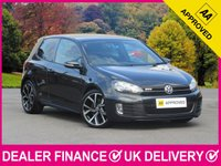 USED 2011 11 VOLKSWAGEN GOLF 2.0 GTD 170 BHP 3DR LEATHER FULL BLACK HEATED LEATHER BLUETOOTH CLIMATE