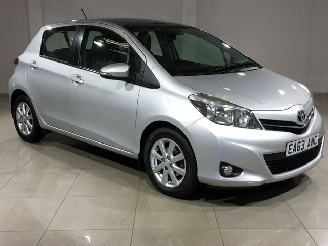 View our 2013 63 TOYOTA YARIS 1.3 VVT-I T SPIRIT 5d 98 BHP