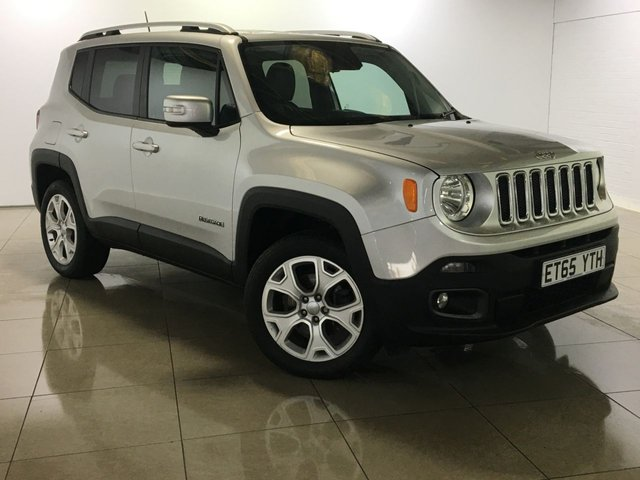 View our 2016 65 JEEP RENEGADE 2.0 M-JET LIMITED 5d AUTO 138 BHP