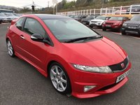 USED 2007 57 HONDA CIVIC 2.0 I-VTEC TYPE-R GT CTR 3d 198 BHP Stunning condition throughout must be viewed, local car with only 54,000 miles & FSH 8 services