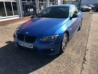 USED 2013 63 BMW 3 SERIES 2.0 320D M SPORT 2d AUTO 181 BHP Full Main Dealer Service History, Sat Nav, Bluetooth, Heated Leather Seats