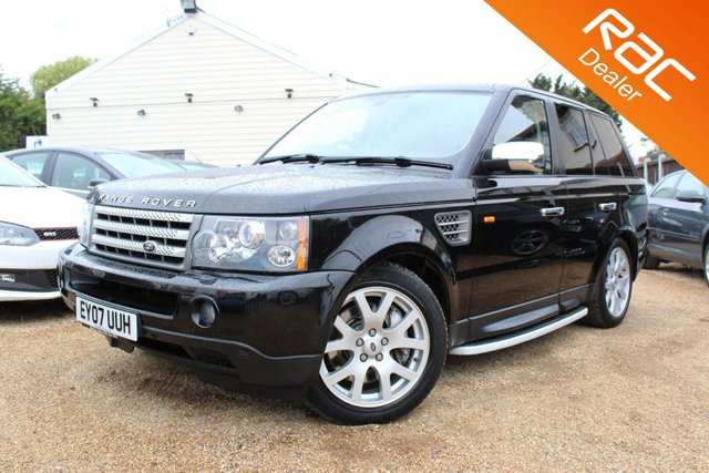 View our 2007 07 LAND ROVER RANGE ROVER SPORT 2.7 TDV6 SPORT HSE 5d AUTO 188 BHP