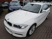 2012 BMW 1 SERIES 2.0 118D M SPORT 2d 141 BHP £SOLD