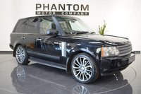 USED 2008 08 LAND ROVER RANGE ROVER 3.6 TDV8 VOGUE 5d AUTO 272 BHP