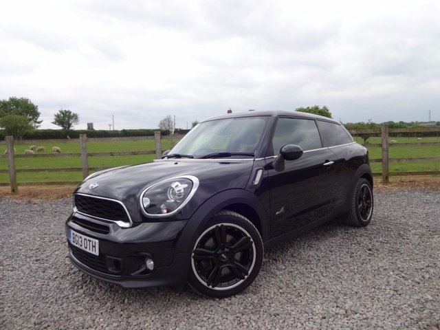 2013 13 MINI PACEMAN 1.6 COOPER S ALL4 3d 184 BHP