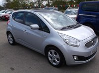 USED 2010 60 KIA VENGA 1.4 CRDI 3 ECODYNAMICS 5d 89 BHP ***Excellent economy - reliable family car  -  Service history  - Excellent Spec !!!