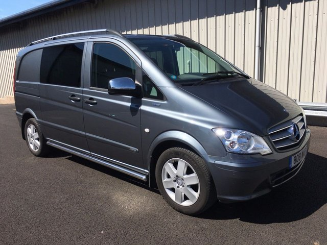 2012 62 MERCEDES-BENZ VITO 113CDI BLUEEFFICIENCY DUALINER COMPACT SPORT LOOK