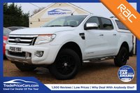 USED 2015 65 FORD RANGER 2.2 LIMITED 4X4 DCB TDCI 1d 148 BHP Reverse Camera, Sat Nav, & more