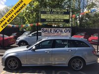 USED 2008 08 MERCEDES-BENZ C CLASS 2.1 C220 CDI SPORT 5d AUTO 168 BHP COMPREHENSIVE SERVICE HISTORY, LONG MOT, STUNNING MOUNTAIN GREY METALLIC, LIGHT ARTICO GREY LEATHER INTERIOR, 17 INCH DOUBLE SPOKE ANTHRACITE ALLOYS, SAT NAV, BLUETOOTH, POWER TAIL GATE, PDC