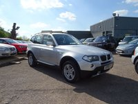 USED 2006 56 BMW X3 2.0 D SE 5d 148 BHP 4 SERVICE STAMPS MARCH 2018 MOT  2 KEYS BEAUTIFUL CONDITION A CREDIT TO ITS OWNERS