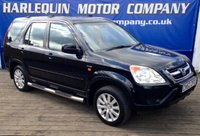 2002 HONDA CR-V 2.0 I-VTEC SE EXECUTIVE 5d AUTO 148 BHP £2299.00