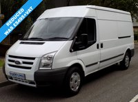 USED 2011 11 FORD TRANSIT 2.4 RWD 330 LWB MEDIUM ROOF 100 BHP 6 SPEED Reduced Price, 2 Owners From New