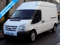 USED 2012 62 FORD TRANSIT 2.2 FWD 350 LWB HIGH ROOF 125 BHP 6 SPEED Reduced Price