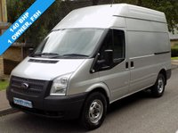 USED 2012 62 FORD TRANSIT 2.2 FWD 350 MWB HIGH ROOF 140BHP 6 SPEED 1 Owner, Full Service History