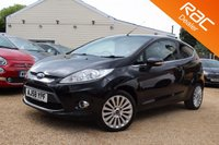 USED 2008 58 FORD FIESTA 1.6 TITANIUM 3d 118 BHP BLUETOOTH, PARKING AID & MORE