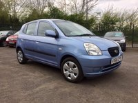USED 2006 56 KIA PICANTO 1.1 ZAPP A/C  PART EXCHANGE TO CLEAR