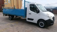 USED 2011 11 VAUXHALL MOVANO 2.3 F3500 L3H1 CDTI 1d 99 BHP 1 OWNER DROP/SIDE/TAIL/LIFT NO VAT