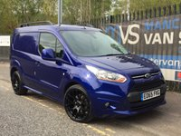 2015 FORD TRANSIT CONNECT 1.6 200 LIMITED 115 BHP MV SPORT EDITION AIR CON 19 ALLOYS  £13495.00