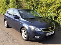 2012 KIA CEED 1.6 PETROL 122 BHP AUTOMATIC, 5 DOOR,  ONLY 3756 MILES FROM NEW £5995.00
