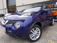 USED 2015 15 NISSAN JUKE 1.5 ACENTA PREMIUM DCI 5d 110 BHP Excellent Spec, No Fee Finance, No Deposit Necessary