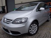 USED 2007 VOLKSWAGEN GOLF PLUS 1.6 LUNA FSI 5d 114 BHP Superb Condition, Low Mileage, FSH, No Fee, No Deposit Finance Available