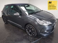 USED 2013 63 CITROEN DS3 1.6 THP DSPORT PLUS 3d 150 BHP FSH-ONE OWNER-LEATHER-B/TOOTH