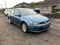 2013 VOLKSWAGEN GOLF SE BLUEMOTION TECH TD £8995.00