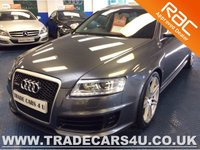 USED 2008 AUDI RS6 AVANT 5.0 TFSI V10 571 BHP QUATTRO PRIVATE PLATE INCLUDED - WIDE BODY RS AVANT - NAV - BOSE