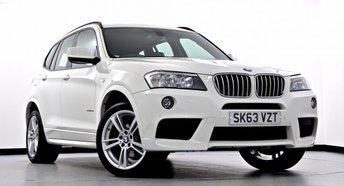 2013 BMW X3 3.0 30d M Sport xDrive 5dr Auto £23995.00