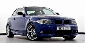 2013 BMW 1 SERIES 2.0 123d Sport Plus Edition 2dr £13995.00