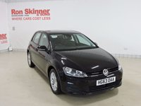 USED 2014 63 VOLKSWAGEN GOLF 1.6 SE TDI BLUEMOTION TECHNOLOGY 5d 103 BHP