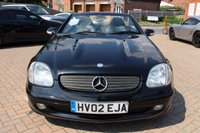 USED 2002 02 MERCEDES-BENZ SLK 2.0 SLK200 KOMPRESSOR 2d AUTO 163 BHP Free 12 Month National Warranty Included.
