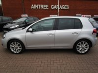 USED 2012 62 VOLKSWAGEN GOLF 2.0 GT TDI 5d 138 BHP FULL HEATED BLACK LEATHER