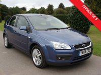 USED 2007 07 FORD FOCUS 1.6 GHIA 16V 5d 113 BHP