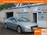 USED 2013 13 PEUGEOT 508 2.0 ALLURE HDI 4d AUTO 163 BHP Sat Nav , Heated Sports Seats, 3 Service Stamps