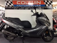 USED 2017 67 KYMCO XTOWN 125 KYMCO XTOWN 125CC BRAND NEW MODEL!!! LEARNER LEGAL!!! IN STOCK NOW!!!