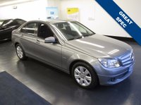 USED 2010 10 MERCEDES-BENZ C CLASS 1.8 C180 CGI BLUEEFFICIENCY EXECUTIVE SE 4d AUTO 156 BHP