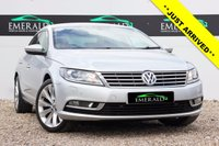 USED 2012 62 VOLKSWAGEN CC 2.0 GT TDI BLUEMOTION TECHNOLOGY 4d 168 BHP £0 DEPOSIT FINANCE AVAILABLE, SATELLITE NAVIGATION, FULL BLACK LEATHER, HEATED FRONT SEATS, FULL SERVICE HISTORY, PARKING SENSORS, MOT FEB 2018, LOW MILEAGE