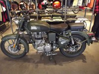 2019 ROYAL ENFIELD 500 CLASSIC BATTLE GREEN £4699.00