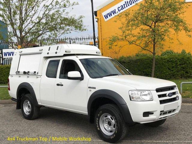 2009 59 FORD RANGER 2.5TDCi SUPER CAB 4X4 D/C [ Mobile Workshop ] Ex Lease, Low Mileage Delivery T,B,A,