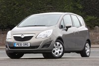 USED 2011 61 VAUXHALL MERIVA 1.4 EXCLUSIV 5d 119 BHP 2 Keepers + F*S*H