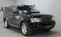 USED 2006 06 LAND ROVER RANGE ROVER SPORT 2.7 TDV6 HSE 5d AUTO 188 BHP FULL BLACK LEATHER SEATS