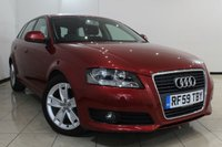 USED 2010 59 AUDI A3 1.8 TFSI SPORT 5DR 158 BHP FULL SERVICE HISTORY + 0% FINANCE AVAILABLE T&C'S APPLY + CLIMATE CONTROL + PARKING SENSOR + CRUISE CONTROL + MULTI FUNCTION WHEEL + 17 INCH ALLOY WHEELS