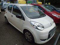 USED 2010 10 CITROEN C1 1.0 SPLASH 5d 68 BHP £20 a year road tax! Low insurance, Great on fuel, Air conditioning