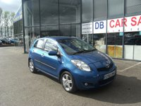 USED 2010 60 TOYOTA YARIS 1.3 TR VVT-I 5d 99 BHP FREE 12 MONTHS RAC WARRANTY AND FREE 12 MONTHS RAC BREAKDOWN COVER