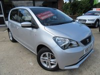 USED 2013 13 SEAT MII 1.0 TOCA 5d 59 BHP RAC INSPECTED, AIR CONDITIONING, £20 ROAD TAX, ALLOYS, PARKING SENSORS, FULL MAIN DEALER SERVICE HISTORY