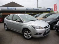 USED 2011 60 FORD FOCUS 1.6 ZETEC 5d 100 BHP NEED FINANCE? WE CAN HELP. WE STRIVE FOR 94% ACCEPTANCE