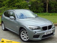 USED 2012 12 BMW X1 2.0 XDRIVE18D M SPORT 5d  128 POINT AA INSPECTED & FULL SERVICE HISTORY