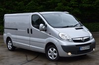 USED 2014 63 VAUXHALL VIVARO 2.0 2900 CDTI SPORTIVE  6D 113 BHP LWB DIESEL MANUAL VAN  ONE OWNER,AIR CON,P/SENSORS,EURO 5 ENGINE